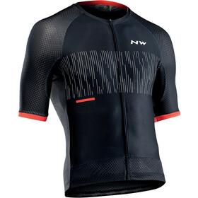 Northwave Storm Air Koszulka rowerowa z krótkim rękawem Mężczyźni, czarny/czerwony